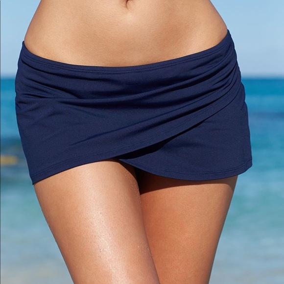 2ee791314b Anne Cole Swim | Womens Solid Sarong Skirt | Poshmark